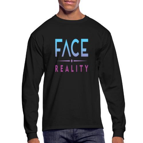 Face Reality - Men's Long Sleeve T-Shirt