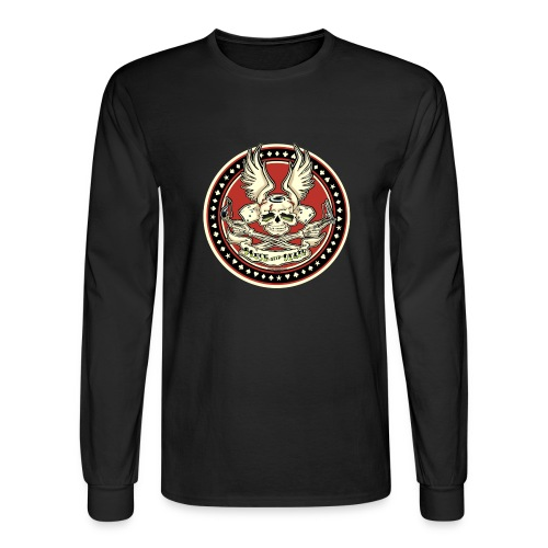 Brush With Death - Men's Long Sleeve T-Shirt