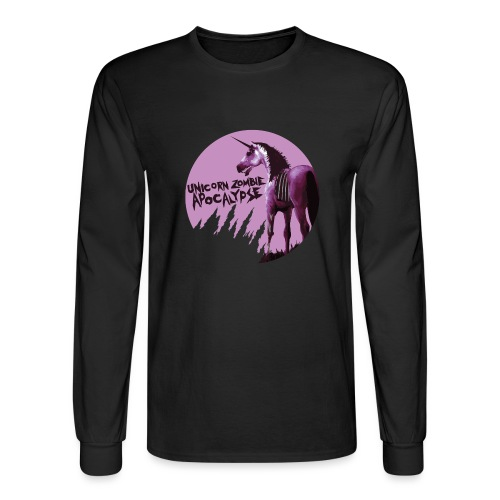 Unicorn Zombie Apocalypse - Men's Long Sleeve T-Shirt