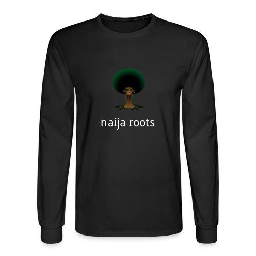 naijaroots - Men's Long Sleeve T-Shirt