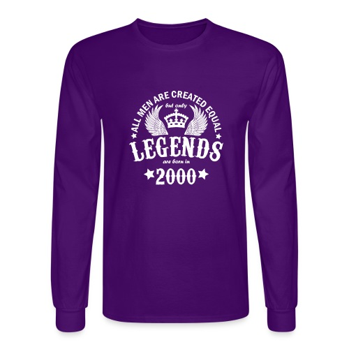 Legends are Born in 2000 - Men's Long Sleeve T-Shirt
