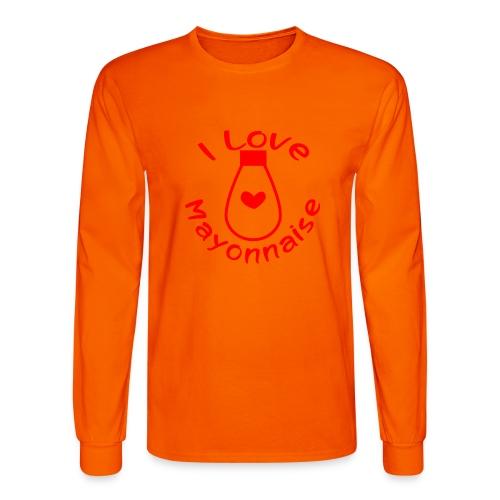 I Love Mayonnaise - Men's Long Sleeve T-Shirt