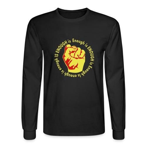 Enough is ENOUGH - Men's Long Sleeve T-Shirt