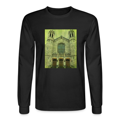 Green gothic cathedral - Men's Long Sleeve T-Shirt