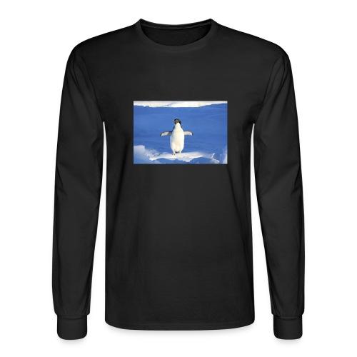 Mr. Penguin - Men's Long Sleeve T-Shirt
