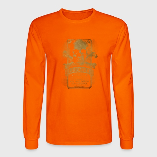 Laudanum Goth Steampunk Medical Doctor - Men's Long Sleeve T-Shirt