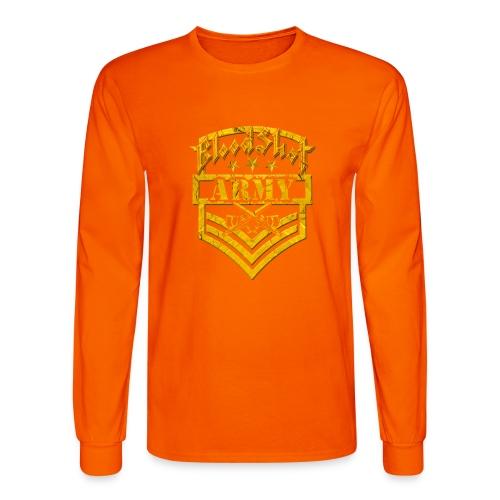 BloodShot ARMY Logo - Men's Long Sleeve T-Shirt
