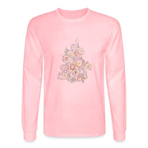 flower - Men's Long Sleeve T-Shirt