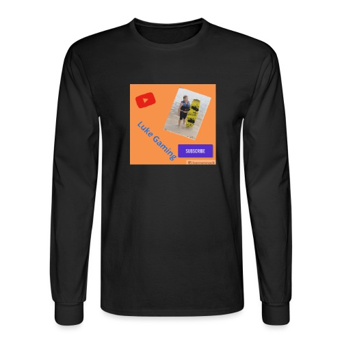Luke Gaming T-Shirt - Men's Long Sleeve T-Shirt