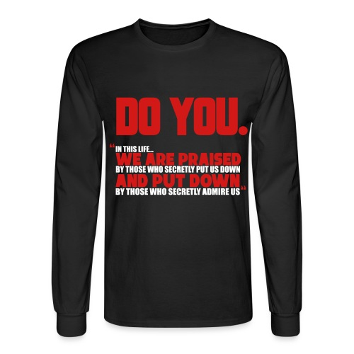 Do You - Men's Long Sleeve T-Shirt