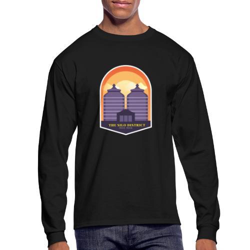 The Silos in Waco - Men's Long Sleeve T-Shirt