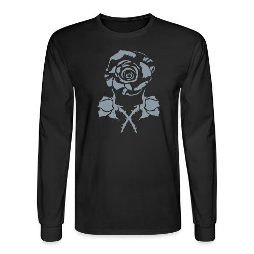 roseandcrossbuds - Men's Long Sleeve T-Shirt