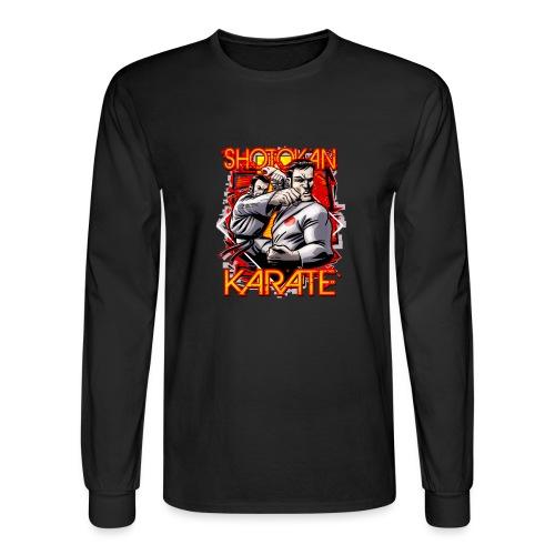 Shotokan Karate - Men's Long Sleeve T-Shirt
