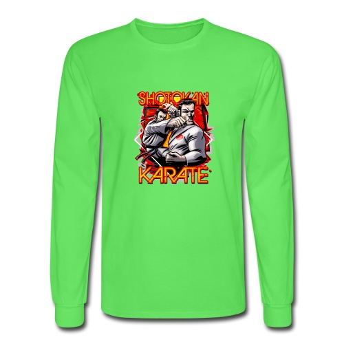 Shotokan Karate - Men's Long Sleeve T-Shirt