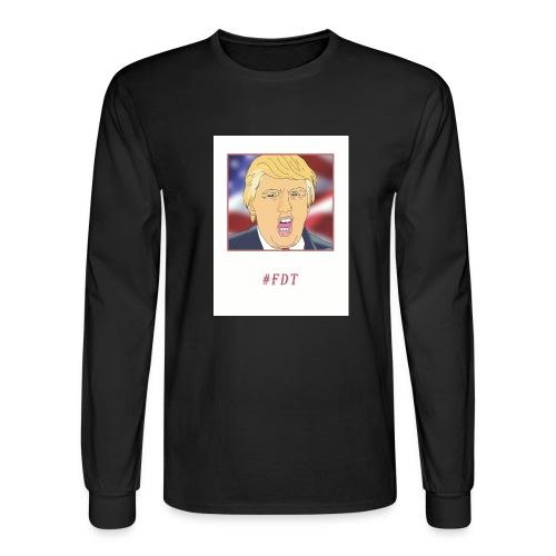 Fuck Donald Trump! - Men's Long Sleeve T-Shirt