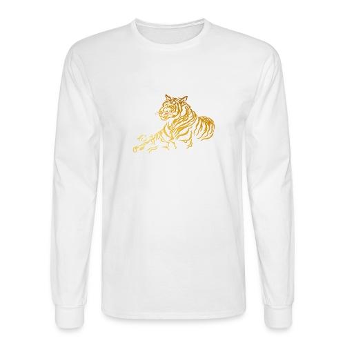 Gold Tiger - Men's Long Sleeve T-Shirt