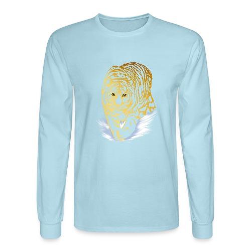 Golden Snow Tiger - Men's Long Sleeve T-Shirt