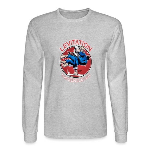 Judo Levitation for dark shirt - Men's Long Sleeve T-Shirt