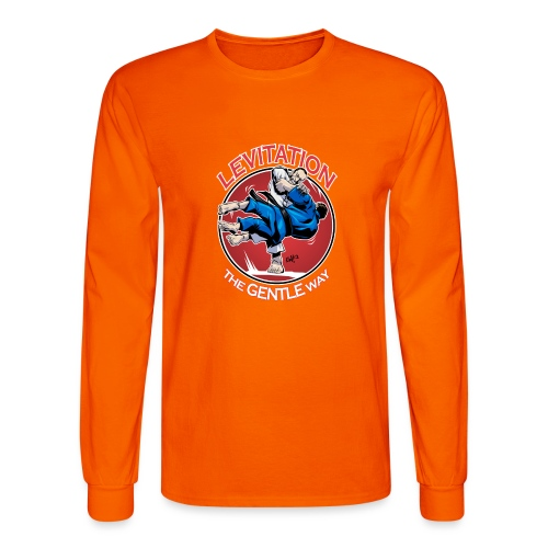 Judo Levitation for dark shirt - Men's Long Sleeve T-Shirt