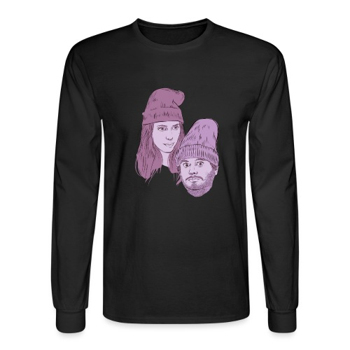 Hila and Ethan from h3h3productions - Men's Long Sleeve T-Shirt