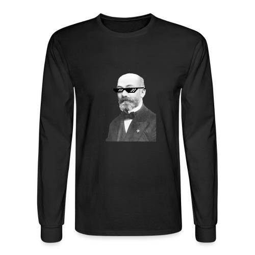 Zamenhof Shades (BW) - Men's Long Sleeve T-Shirt