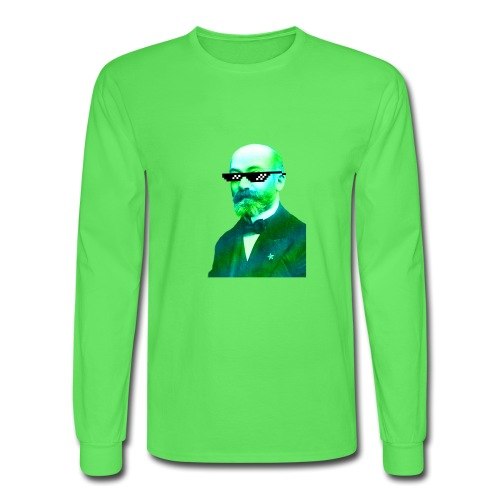 Green and Blue Zamenhof - Men's Long Sleeve T-Shirt