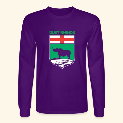 Manitoba Rhino - Men's Long Sleeve T-Shirt