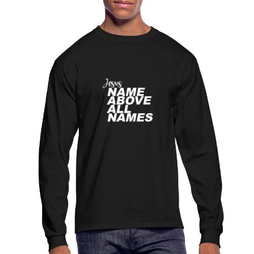 Jesus: Name above all names - Men's Long Sleeve T-Shirt