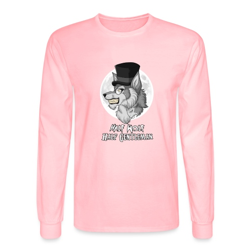 Half-Wolf Half-Gentleman - Men's Long Sleeve T-Shirt