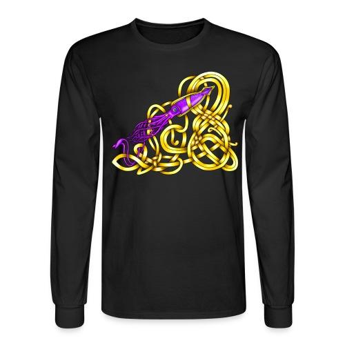 Celtic Squid - Men's Long Sleeve T-Shirt