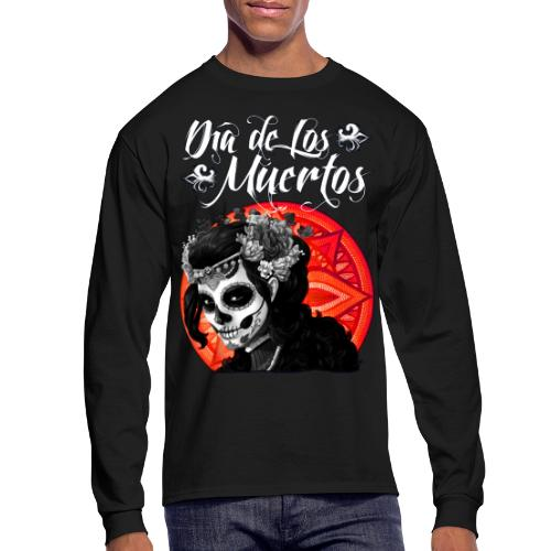 Dia de Los Muertos 01 - Men's Long Sleeve T-Shirt