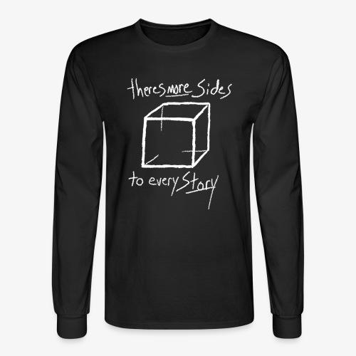 moresides inv - Men's Long Sleeve T-Shirt