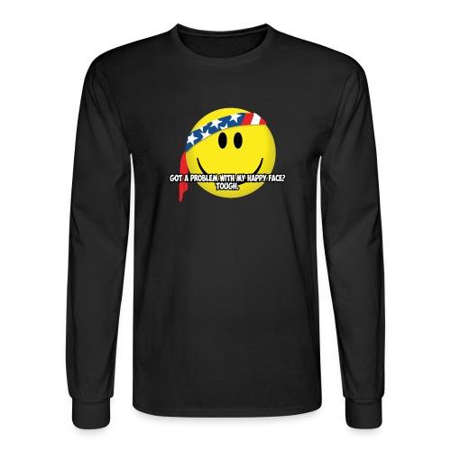 Happy Face USA - Men's Long Sleeve T-Shirt
