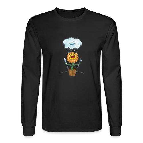 Cloud & Flower - Best friends forever - Men's Long Sleeve T-Shirt