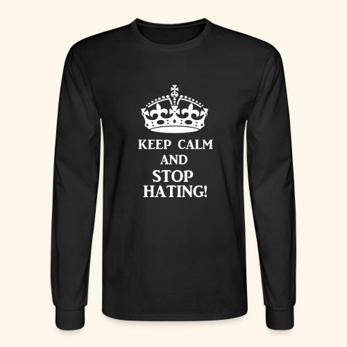 stoph8ingwht - Men's Long Sleeve T-Shirt