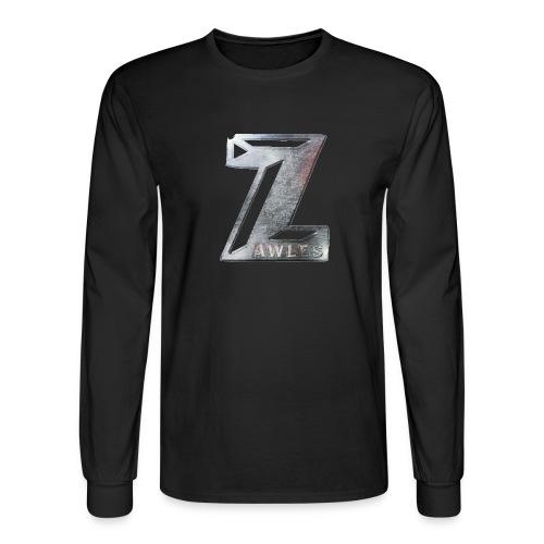 Zawles - metal logo - Men's Long Sleeve T-Shirt
