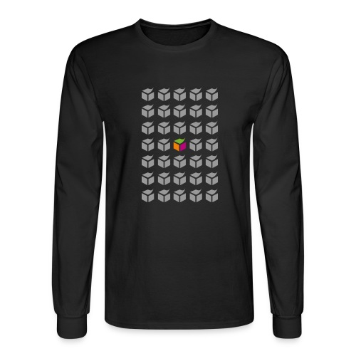 grid semantic web - Men's Long Sleeve T-Shirt