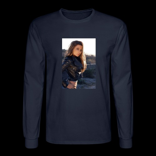 Rebecca Grant tuff and sexy - Men's Long Sleeve T-Shirt