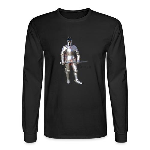 Plate Armor Bring it men's standard T - Men's Long Sleeve T-Shirt
