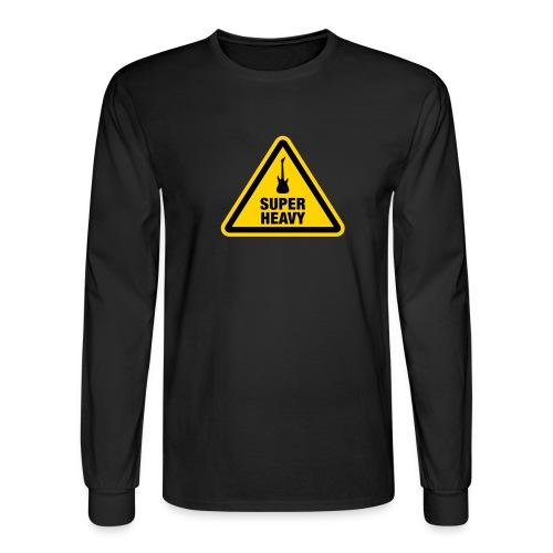 Super Heavy Sign - Men's Long Sleeve T-Shirt