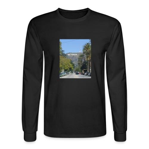 RockoWood Sign - Men's Long Sleeve T-Shirt
