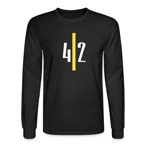 LIMITED EDITION PITTSBURGH EDITION YINZER CLUB - Men's Long Sleeve T-Shirt