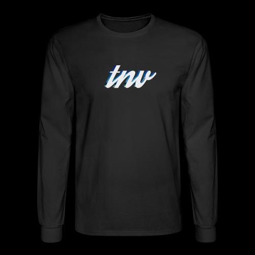 TNV WHITE DESIGN CLSSC png - Men's Long Sleeve T-Shirt