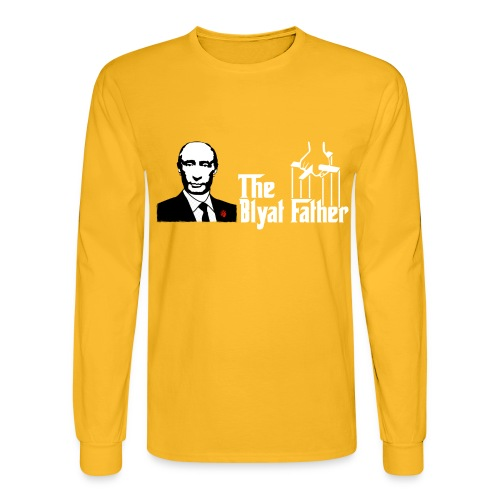 The Blyat Father - Men's Long Sleeve T-Shirt
