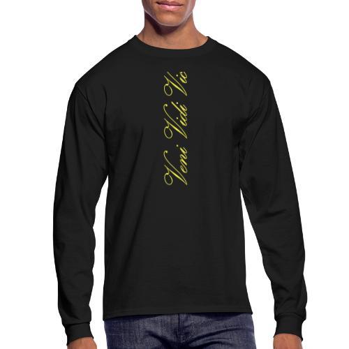 Zyzz Veni Vidi Vici Calli text - Men's Long Sleeve T-Shirt