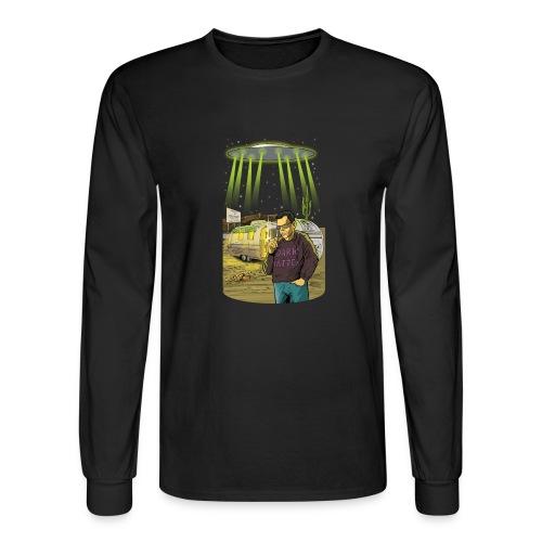 Art Bell Coast to Coast UFO Sighting - Men's Long Sleeve T-Shirt