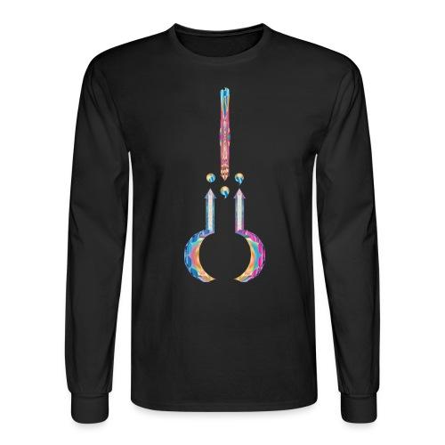 AnonyMuzsic Logo - Men's Long Sleeve T-Shirt