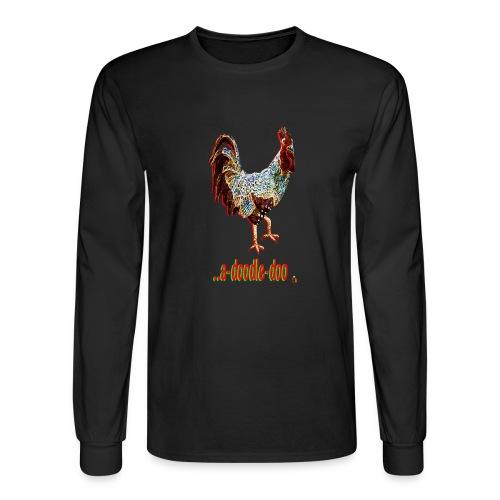 A Doodle Doo - Men's Long Sleeve T-Shirt