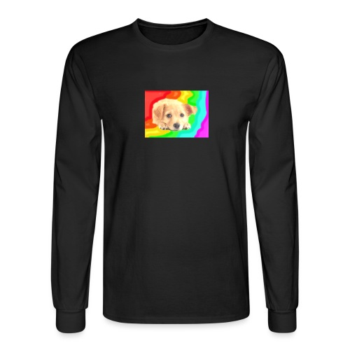 Puppy face - Men's Long Sleeve T-Shirt