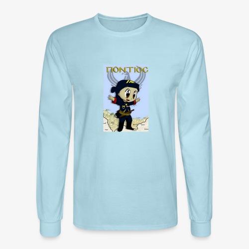 Cartoon - Pontian... fly like an eagle - Men's Long Sleeve T-Shirt
